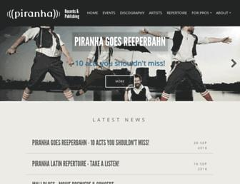 piranha.de screenshot