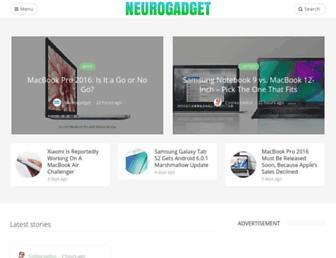 neurogadget.net screenshot