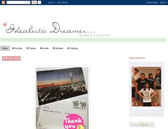 idealistic-dreamer.blogspot.com screenshot