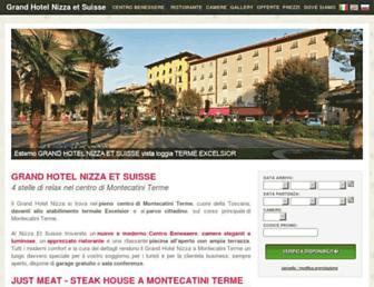 grandhotelnizza.it screenshot