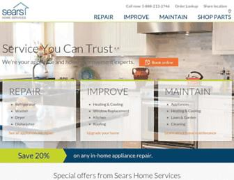 Thumbshot of Searshomeservices.com