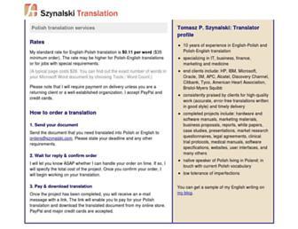 szynalski.com screenshot
