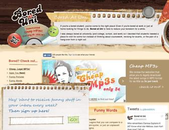 boredatuni.com screenshot