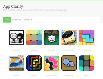 appclarify.com screenshot