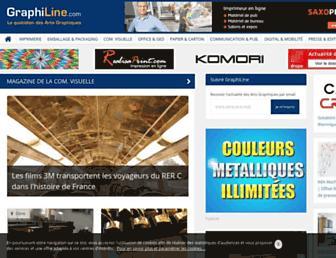 graphiline.com screenshot