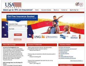 usacoverage.com screenshot