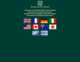 davidaustinroses.com screenshot