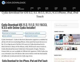 cydia-downloader.com screenshot