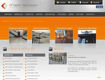 gpexport.net screenshot