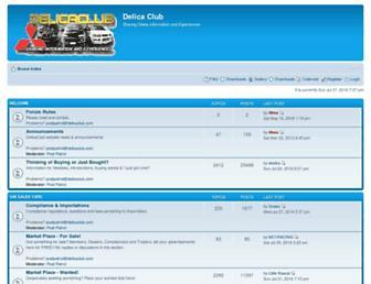 delicaclub.com screenshot
