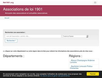 Thumbshot of Net1901.org