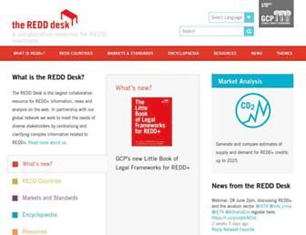 theredddesk.org screenshot