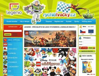 legenio.cz screenshot