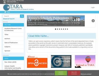 tara.tcd.ie screenshot