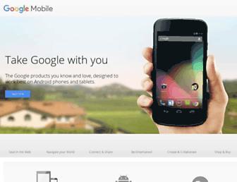 m.google.com screenshot
