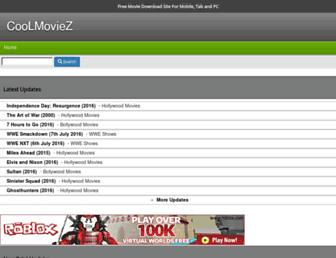 mycoolmoviez.com screenshot
