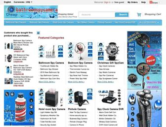 Thumbshot of Bathroomspycamerashop.com