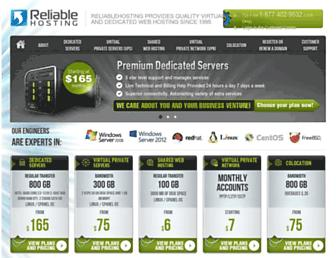 Thumbshot of Reliablehosting.com