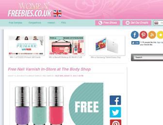 Thumbshot of Womenfreebies.co.uk