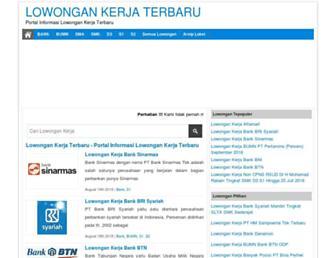 lowongankerjanows.com screenshot