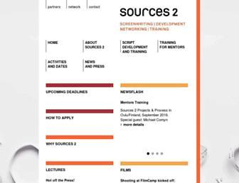 sources2.de screenshot