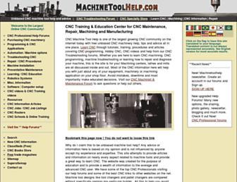 machinetoolhelp.com screenshot