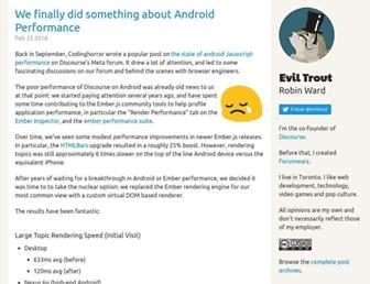 Thumbshot of Eviltrout.com