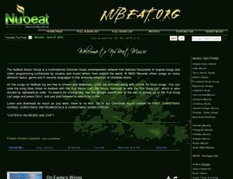 nubeat.org screenshot
