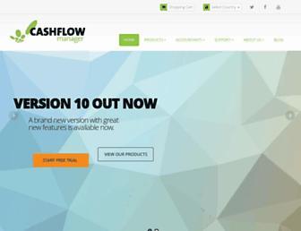 cashflow-manager.com.au screenshot