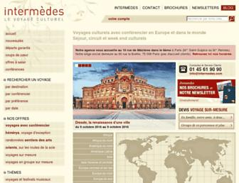 intermedes.com screenshot