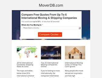 moverdb.com screenshot