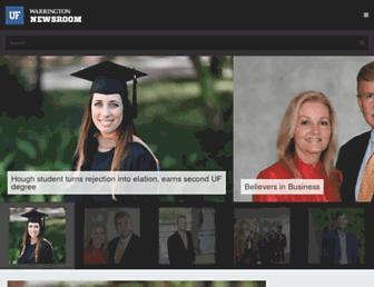 news.warrington.ufl.edu screenshot