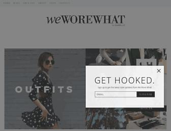Thumbshot of Weworewhat.com