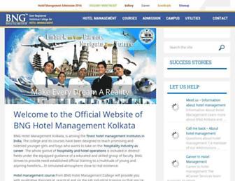 bngkolkata.com screenshot