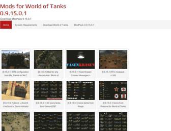 modsworldoftanks.com screenshot