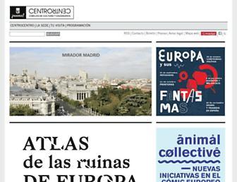 centrocentro.org screenshot