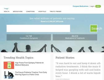 Thumbshot of Treato.com