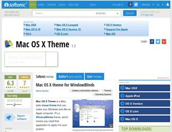 mac-os-x-theme.en.softonic.com screenshot
