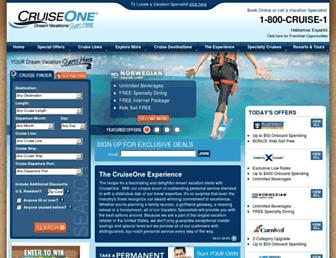 Thumbshot of Cruiseone.com