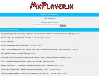 mxplayer.in screenshot