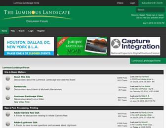 forum.luminous-landscape.com screenshot