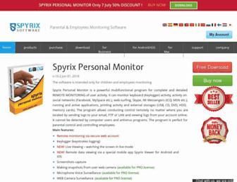 spyrix.com screenshot