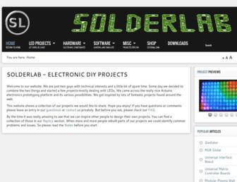 solderlab.de screenshot