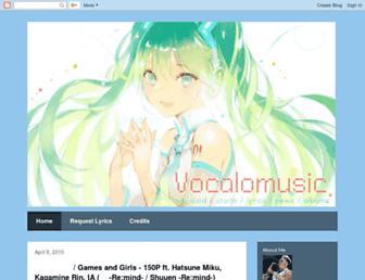 vocalomusic.blogspot.com screenshot