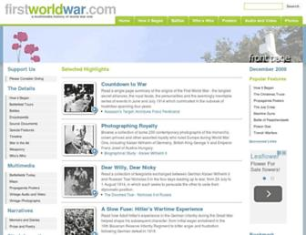 Thumbshot of Firstworldwar.com