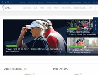Thumbshot of Lpga.com