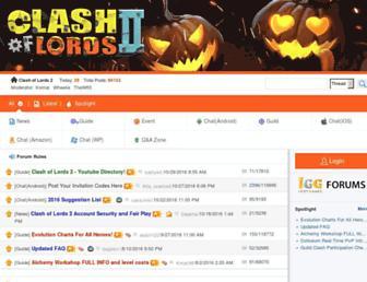 col2.forum.igg.com screenshot