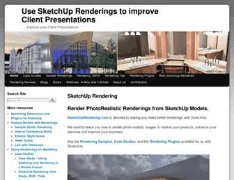 sketchuprendering.com screenshot