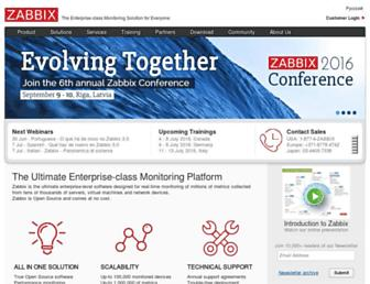 Thumbshot of Zabbix.com
