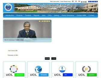 ucil.gov.in screenshot
